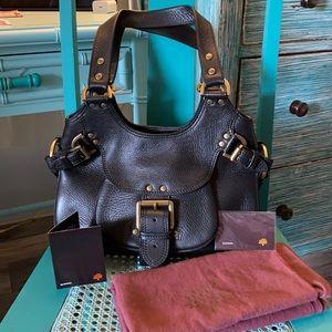 """Mulberry """"Darwin"""" Pebbled Leather Shoulder Bag"""